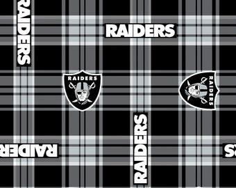 Raiders Fleece Etsy