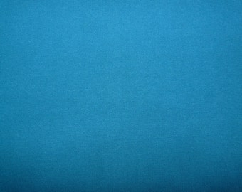 Fabric - Cotton/elastane rib fabric - Mid petrol blue