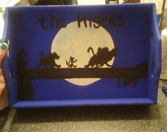 The Lion King personalized serving tray