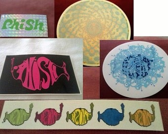 Phish Stickers Decals