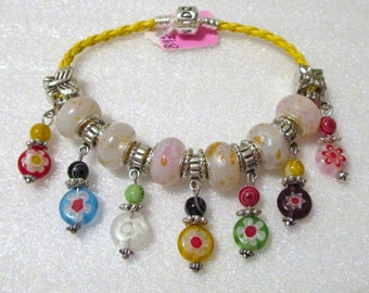 736 - NEW - Colorful Beaded Bracelet