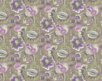 ON SALE 1 yard Victoria and Albert Clothworkers Jacobean Lea by Westminster Fabrics