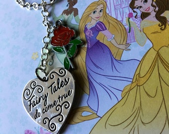 Belle inspired keychain/purse chain, Beauty and the Beast, Accessories