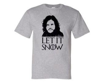 Jon Snow Let It Snow Tee