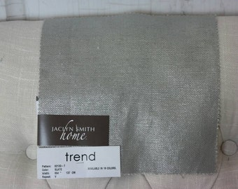 Upholstery, Solid, Gray Fabric by the Yard, Home Decor, Drapery Curtains, Designer, Remnant Fabric, Pillow Fabric, Sewing