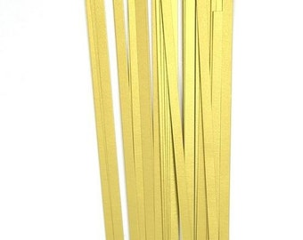 Quilling paper strips in gold Big Pack