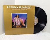 Donna Summer vinyl record Greatest Hits Vol One LP album || 70's Disco
