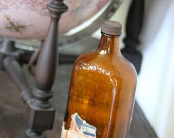 Vintage Scrubbs Fluid bottle - 203mm