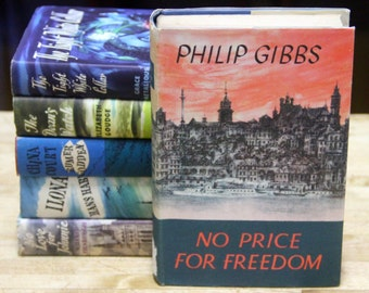 "Philip Gibbs ""No Price For Freedom"" The Book Club, London 1950s"