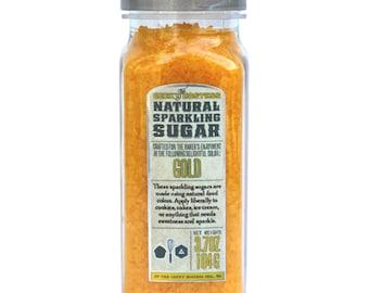 Gold Natural Sparkling Sugar
