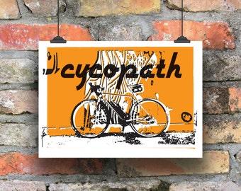 Cycopath Cycling Print