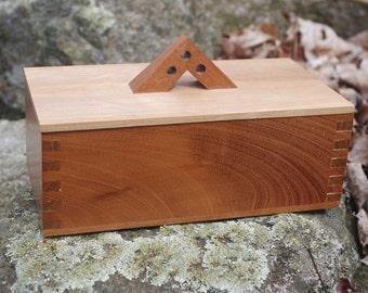 Cedar Lined Mahogany Box