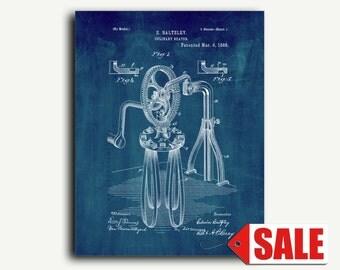 Patent Art - Culinary Beater Patent Wall Art Print