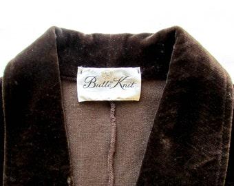 60's Vintage Velvet Blazer