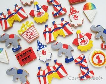 Circus / Carnival Cookies