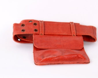 High Quality Leather Pocket Belt