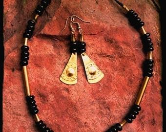 Buzzard Protection Onix necklace
