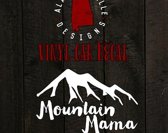 Mountain Mama - Car Decal
