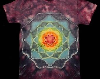 Men's S Mandala Tie Dye T Shirt