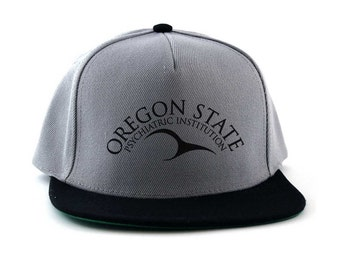One Flew Over The Cuckoos Nest: Oregon State Institution Wings Snapback Cap