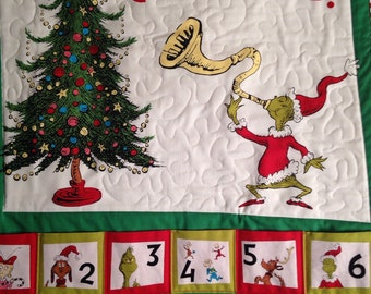25 Days of Grinchmas Christmas Advent Countdown Calendar