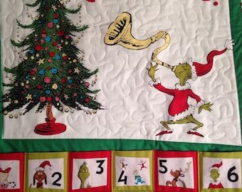 25 Days of Grinchmas Christmas Advent Countdown Calendar