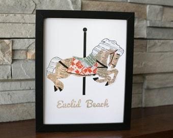 Euclid Beach Carousel Print