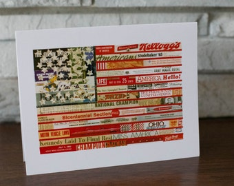 Flag Note Cards