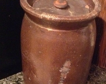 Salt Glaze Crock Ware Old