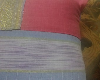 Decorative pillow ,Pink & perpel