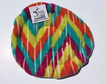 Rainbow Frisbee, Small Soft Toys, Fleece Flying Disc, Indoor Dog Toys, Rainbow Gifts, Puppy Toy, Gifts for Dogs, Pet Pride, Tug a war Toy