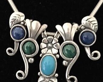 Sterling Silver Slide Necklace