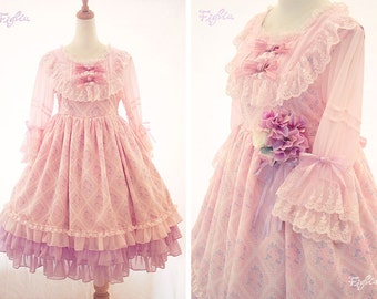 D061 Rose Dreaming One Piece Dress