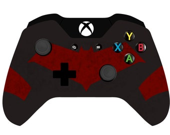 Custom Painted Batman Red Hood Xbox one wireless Controller 1697 3.5mm