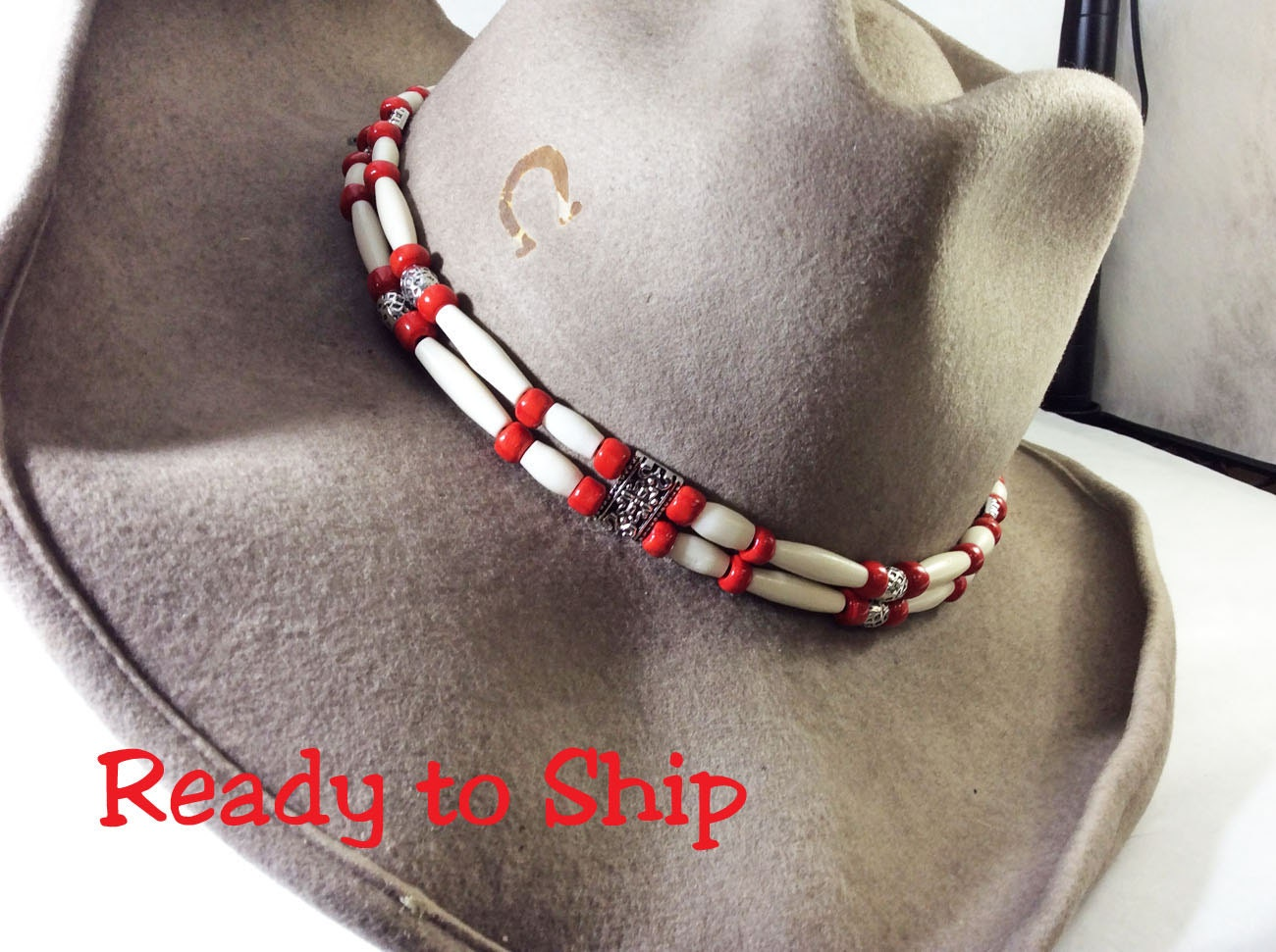 beaded hatband hat band beaded hat band western hat band