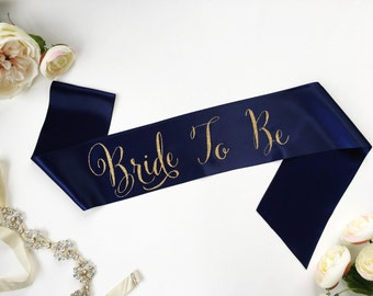 Bride To Be Bridal Sash