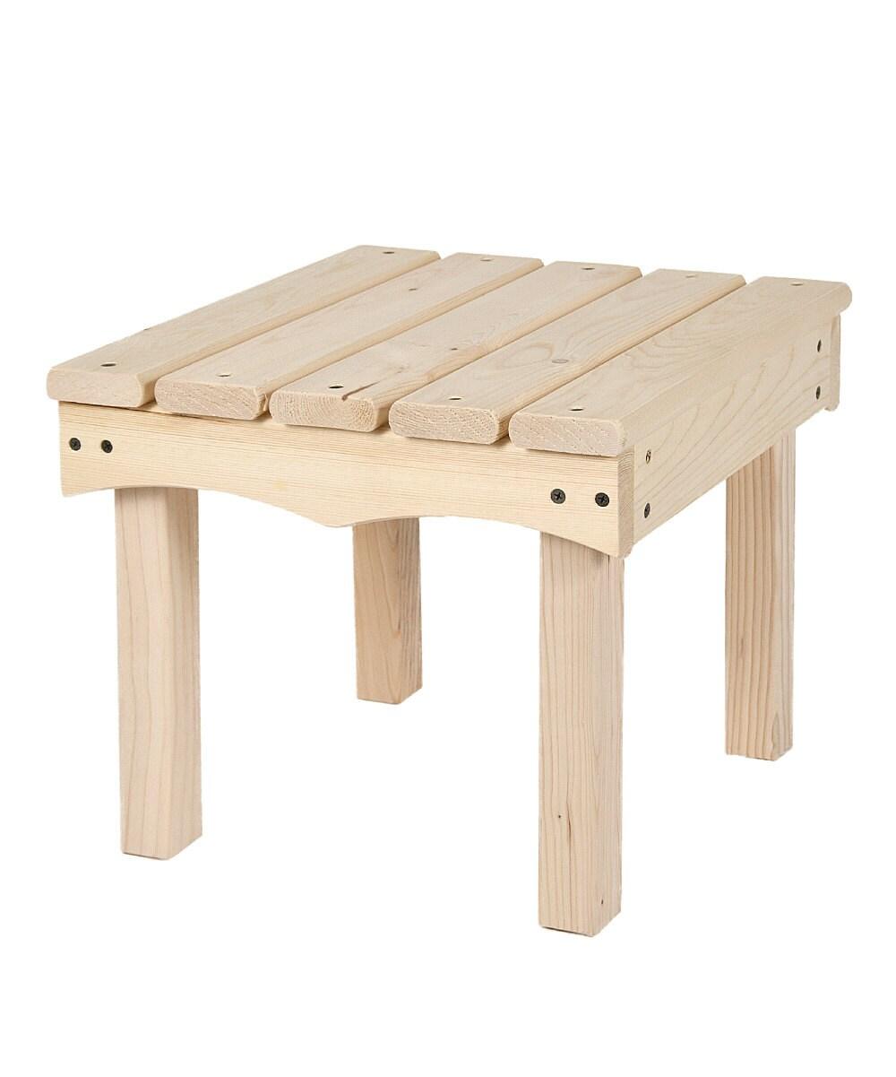 Kids Adirondack End Table Unfinished Furniture Kit
