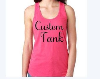 Custom Tank
