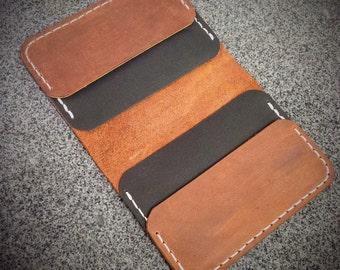 Men's Leather Wallet, Leather Minimalist Wallet, Card Holder, Card Wallet, Men's Wallet, Women's Wallet