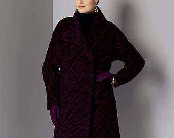 Vogue Sewing Pattern V9156 Misses' Coat