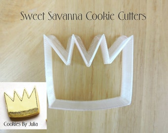 Crown Cookie Cutter No 3