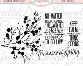 Think Spring Digital Stamp Set