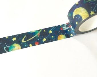 Washi tape/masking tape 2cmx10mt space space