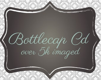 CD Bottlecap Image Album 438 Image Sheets over 5k images and 5 templates!!