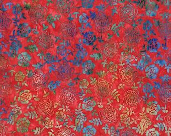Batik fabric Tonga Carnavale/Timeless Treasure #BK344, sold by the 1/4yrd-1/2yrd-1 yard