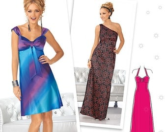 New Look Pattern 6122 Misses'Special occasion dress or gown