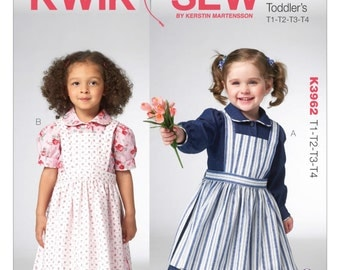 Kwik Sew Pattern K3954 Misses' High-Low Hem Tunics