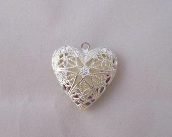 Glow-in-the-Dark Heart Pendant