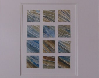 Tidal Surge - Original Watercolour Painting 12 x 14