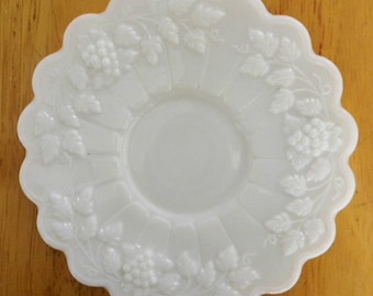 Westmoreland White Milk Glass Tea Cup and Saucer